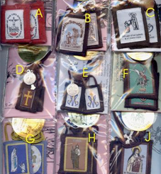 Our Lady of Mt. Carmel Brown Scapulars