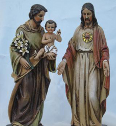 St. Joseph or Sacred Heart Of Jesus Statues